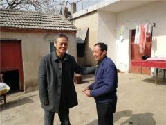 省环保厅副厅长罗宏赴怀远县开展扶贫送温暖调研活动