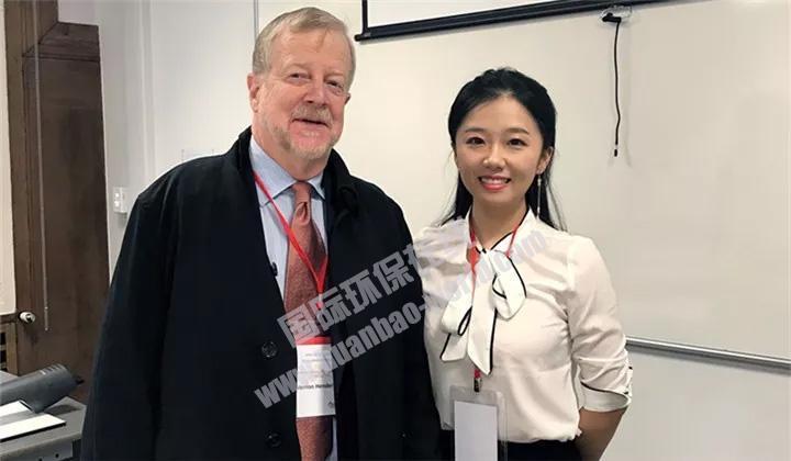 访伦敦政经中国发展论坛嘉宾费农.亨德