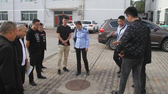 鄂尔多斯市环境监察支队 开展印染行业排污许可证执法