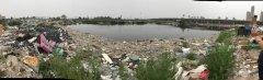 曝光台 | 天津市北辰区宜兴埠镇废弃养鱼池垃圾堆积