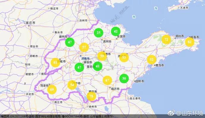 济南空气质量预报_山东省环境空气质量形势预报(2018年9月4日―10日)-国际环保在线