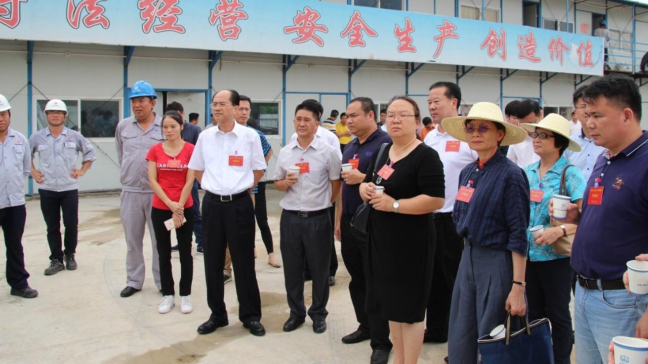 广东省全国人大代表高度点赞潮南区纺