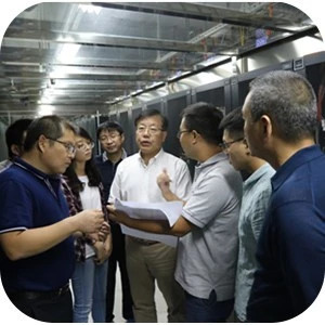 国家普查办副主任刘舒生一行到四川省调