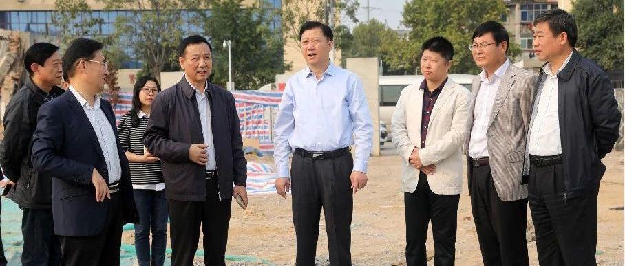 淮北市委书记黄晓武暗访污染防治工作