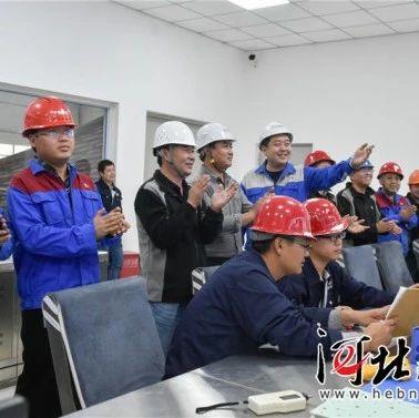 辛集纯污泥焚烧发电项目并网发电,日处理污泥8720吨(