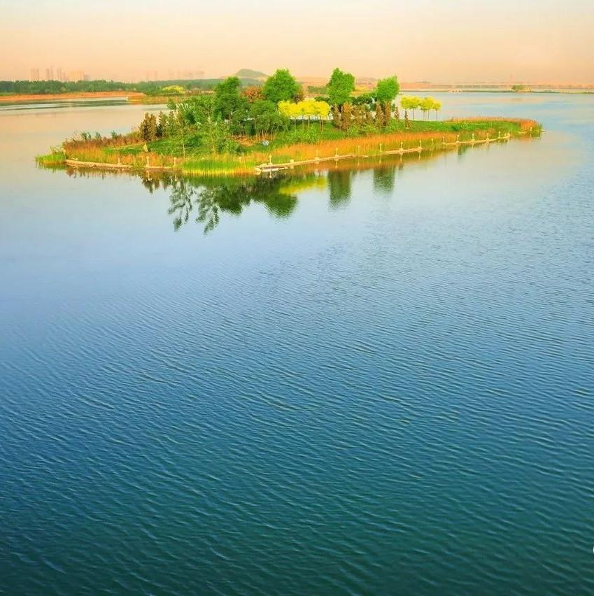临汾市蒲县人工湿地新工艺让昕水河变