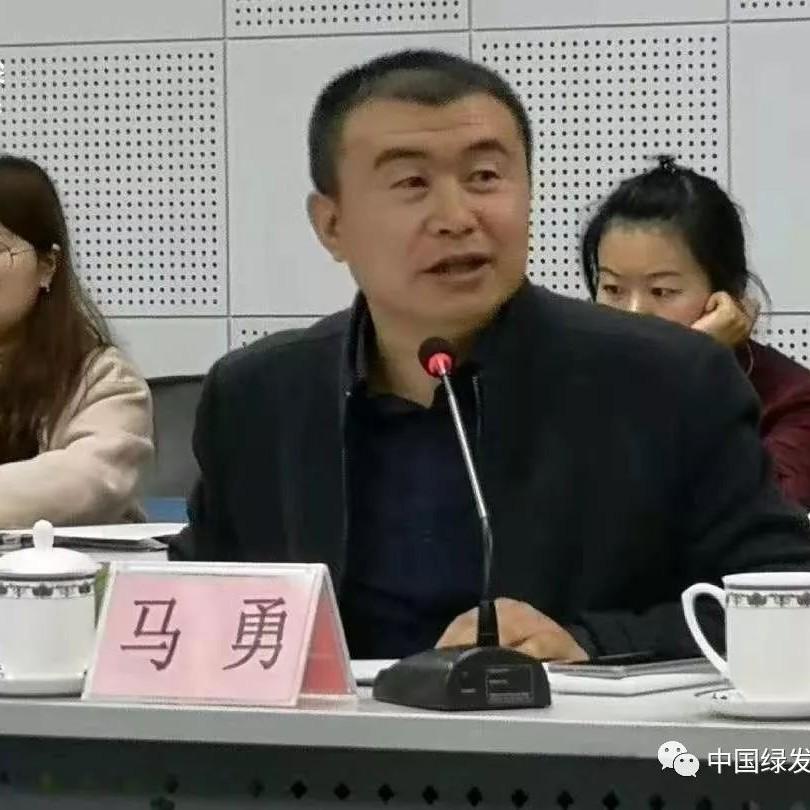 """马勇应邀参加生态环境部""""中国环境战"""