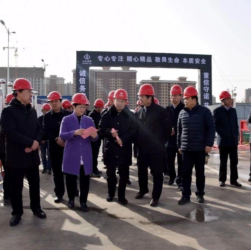 临汾市人大常委会副主任王金珍在襄汾