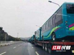 吉首市首批纯电动新能源公交车12月中