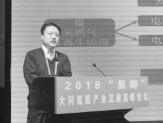 """2018""""氢都""""大同氢能产业发展高峰论坛"""