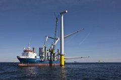 丹麦动能集团于瑞典完成全球第一起离岸风机换新