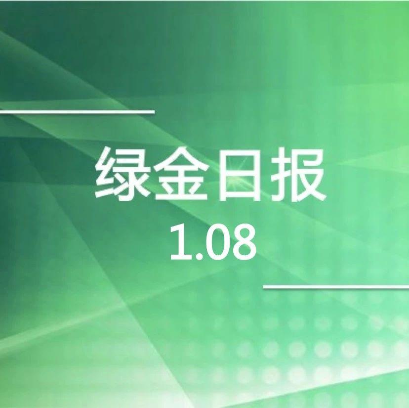 绿色金融日报 1.08