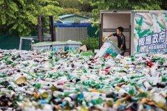香港回收商被指欠交逾4千吨玻璃沙 黄