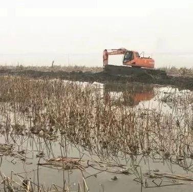 岳阳市华容县:清除非法围挽建设势在