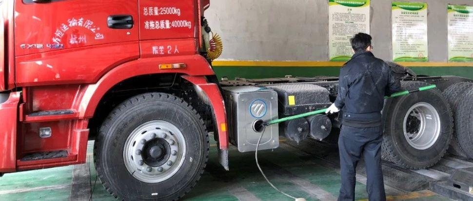 严格防控排放不合格的柴油车进入杭州