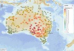 澳洲南部再现极端天气 高温逾49度破纪录