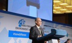 环境及水源部长马善高:应把废物当成