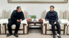 本溪市生态环境局局长刘天泽率队拜访