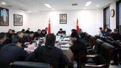 湖南省生态环境厅第1次厅务会,研究了