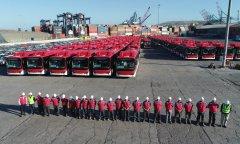 走出国门,中国电动公交车进军拉美市场