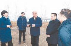保定市委书记聂瑞平调研拒马河白沟引