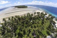 """海平面上升将""""灭顶"""" 马绍尔群岛总统:只能垫高国土"""