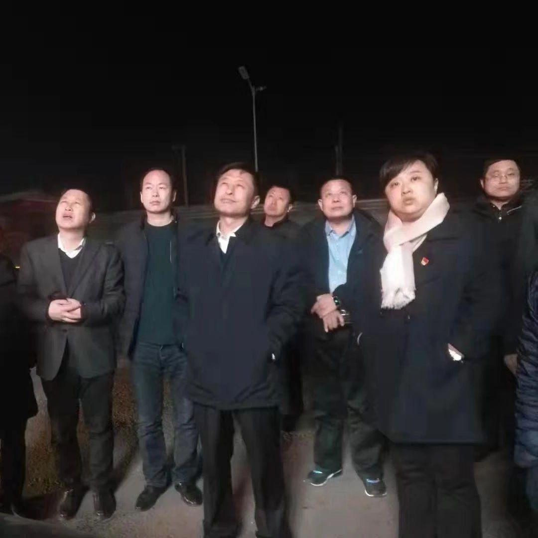 濮阳市南乐县县委副书记、代县长曹拥军夜访大气污染防