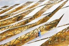 既能发电也能种农作物 重庆最大光伏发