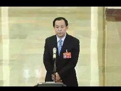 """自然资源部部长陆昊在""""部长通道""""接受采访"""