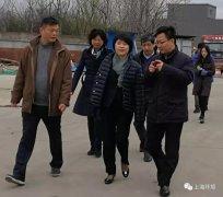 上海市生态环境局郭芳书记调研长宁区环保设施向公众开