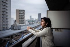 担忧核辐射污染 日本福岛灾民不相信政府拒绝返乡
