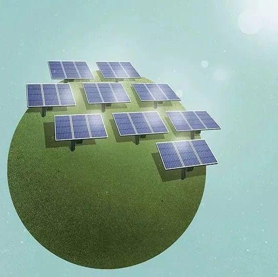 发达国家和发展中国家光伏电站的两种打开方式