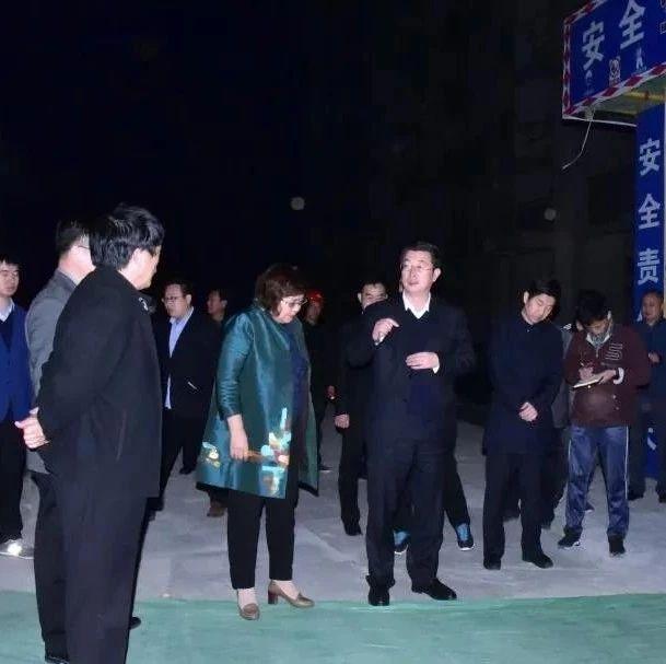 邯郸肥乡区政府区长李书平夜查大气污