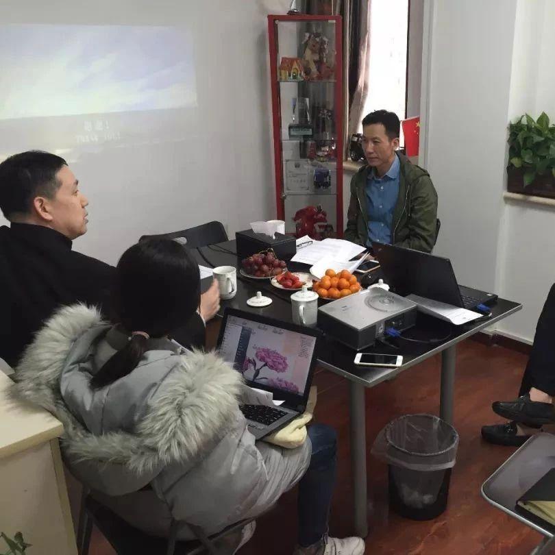 周晋峰与两企业董事长共同研讨筹建绿