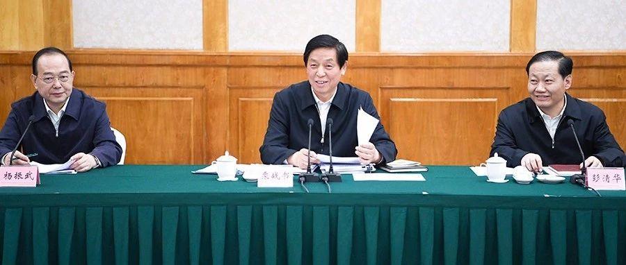 人大常委会委员长栗战书在四川检查水污染防治法实施情