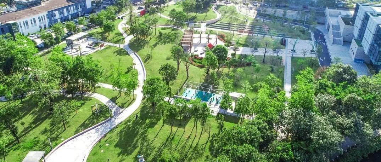 深圳龙岗智慧公园:遇见绿色科技里的