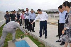 江门市市长刘毅巡查督导潭江流域水环