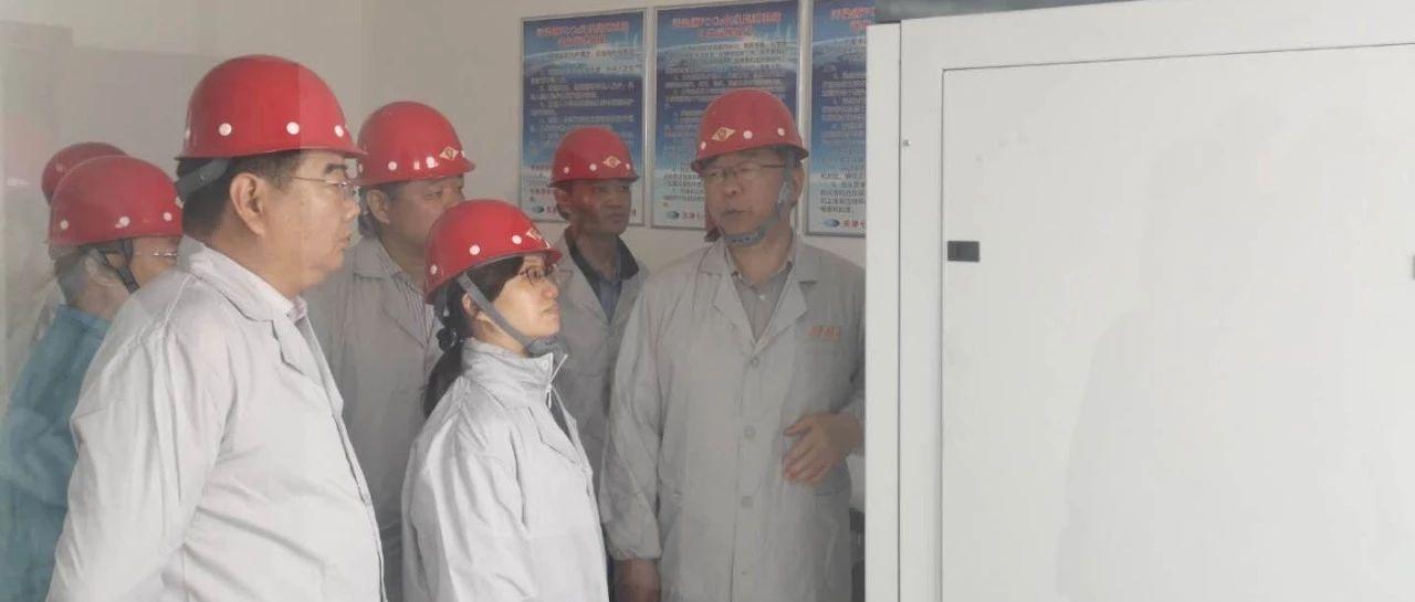 河南省生态环境厅副厅长焦飞调研濮阳市挥发