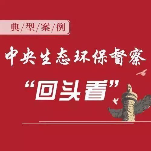 """贵州省公开中央生态环境保护督察""""回头看"""""""