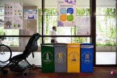 调查:六成新加坡家庭定期响应旧物回收