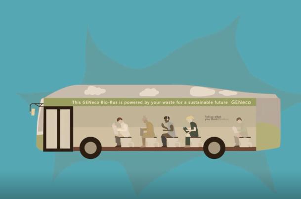 动画科普:什么?用粪便驱动的公交车?