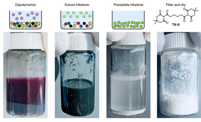 """美科学家重新定义""""塑料"""" 可从分子层面做到完全回收"""