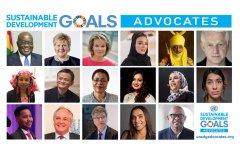 联合国秘书长任命新的可持续发展目标倡导者小组