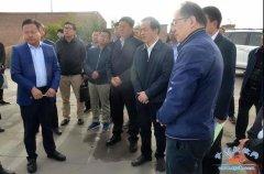 甘肃省委常委、副省长周学文在张掖调研生态环境整治等工作