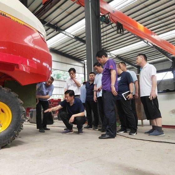 濮阳市南乐县为1500台收割机免费安装降尘设备