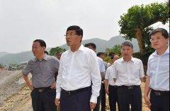 安徽省副省长何树山到六安市调研生态