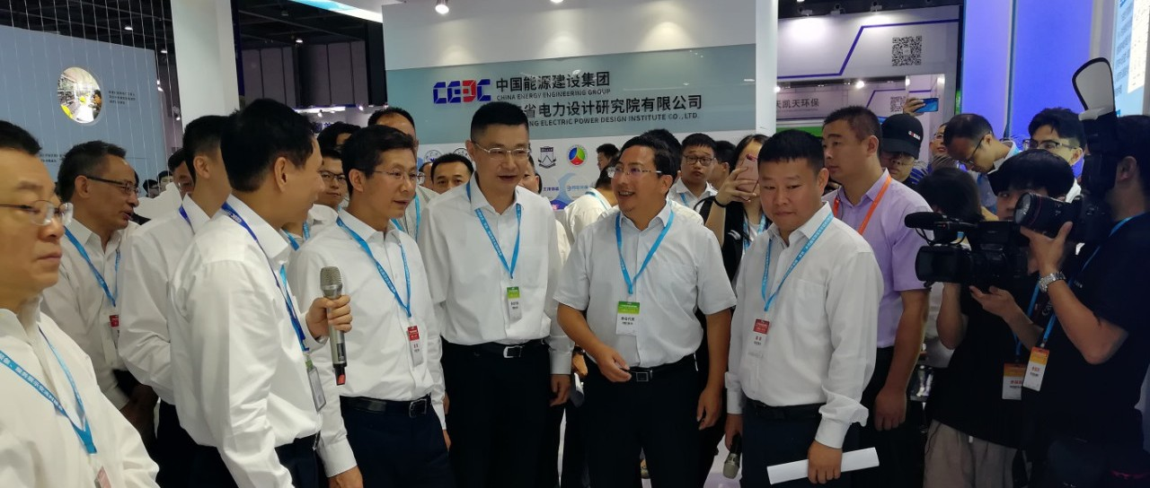 江门市副市长林飞鸣带队参加广东省污