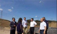 乌兰察布市生态环境局局长赵海龙一行赴兴和县 调研环