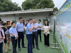重庆市生态环境局辛世杰局长调研北碚区大气污染防治工作