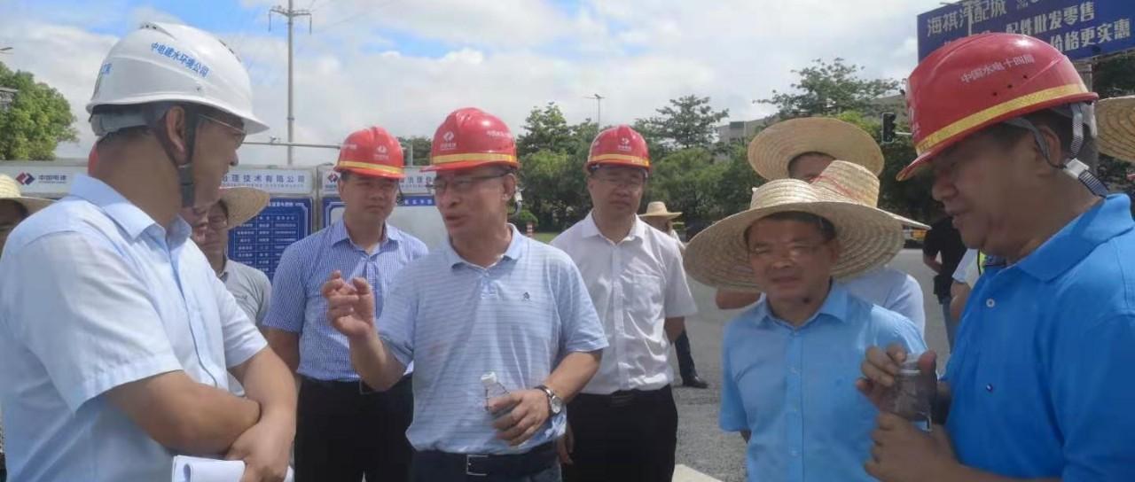 广东省生态环境厅厅长鲁修禄在东莞服